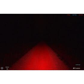 Lupine Rotlicht Baglygte, rød